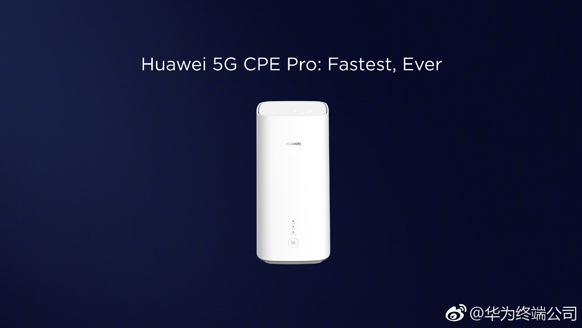 MWC 2019 Pre - Conference : Huawei released 5G CPE Pro: 3 2